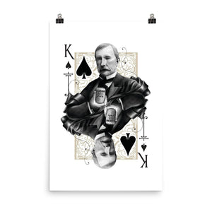 Titans King of Spades Art Print - 24×36 - Prints