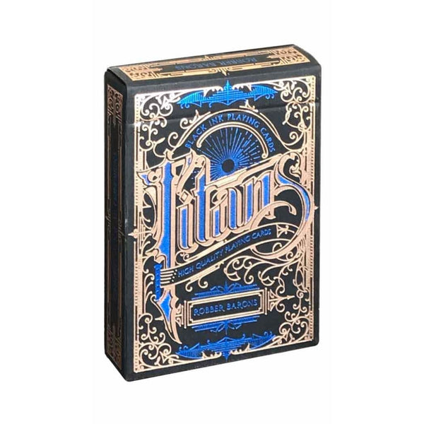 Titans Robber Baron - Black Edition - Playing Cards