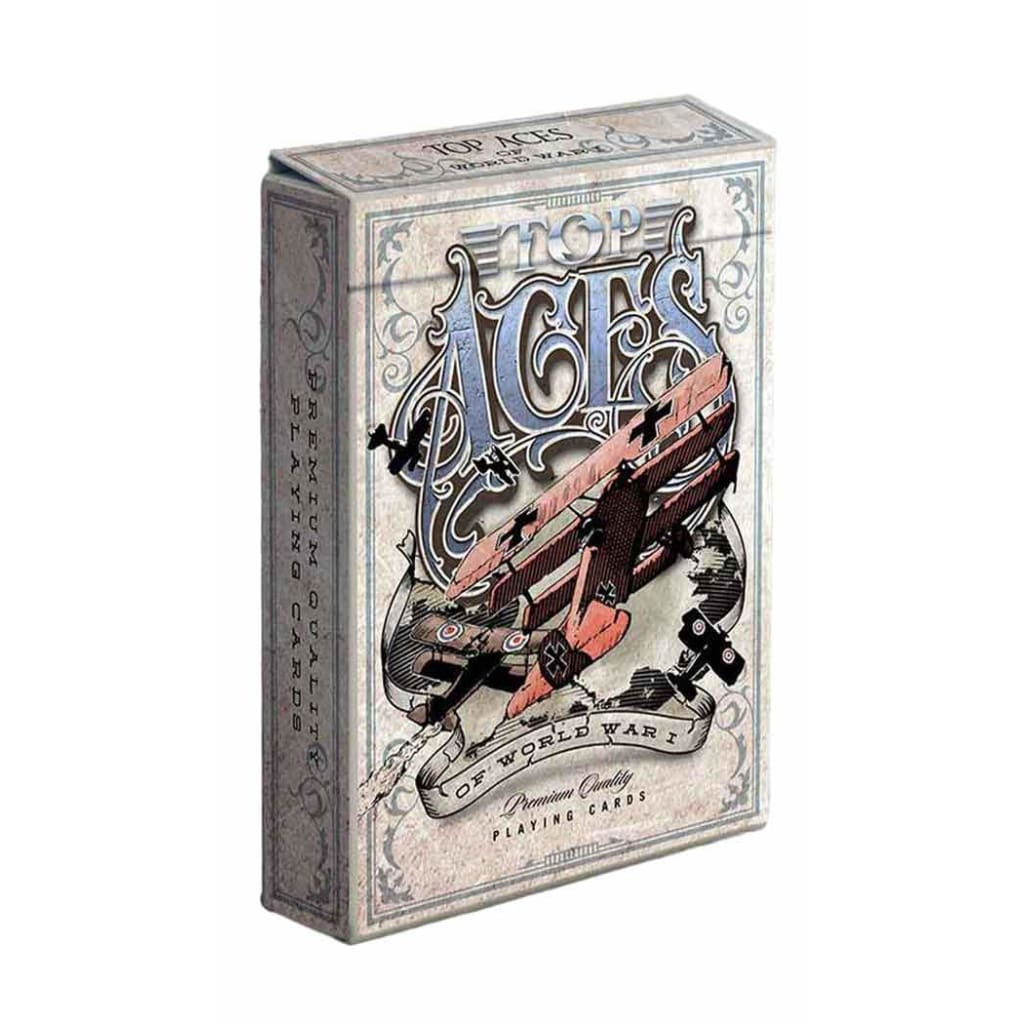 Standard Edition Playing Cards Top Aces of WWI V2
