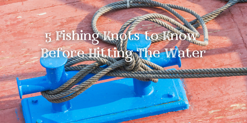 5 Fishing Knots to Know Before Hitting The Water - Justforfishing.com