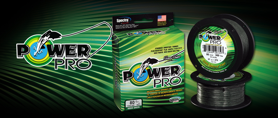 PowerPro braided Line