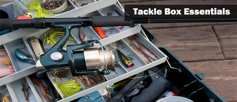 tackle box with supplies