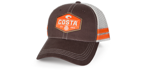 dad54dd5e339d ... italy costa del mar reel trucker hats adjustable for a larger fit.  constructed with high