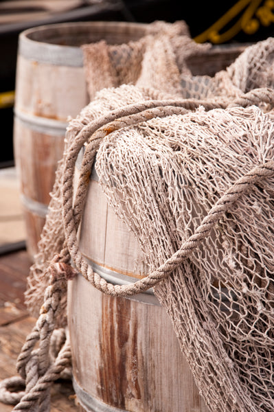 rope and fishing net