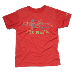 Costa Kick Plastic Bottle Fish Short Sleeve T-shirt