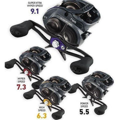 Daiwa Zillion with TWS Baitcasting Reels
