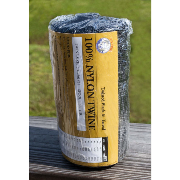EVERSTRONG ROPE Fishing Accessories Everstrong Nylon Black & Bonded Twine for secure non-slipping
