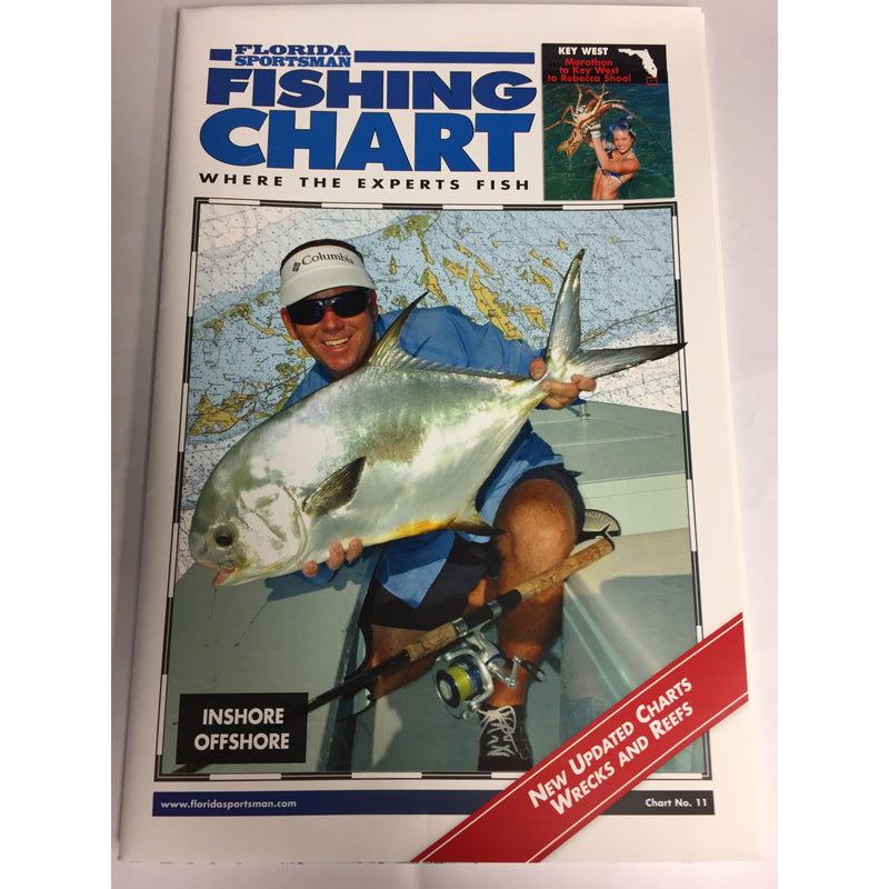 Florida Sportsman Fishing Charts Fishing Accessories Florida Sportsman Fishing Charts - FL Southeast ( Palm Bay to Key West )