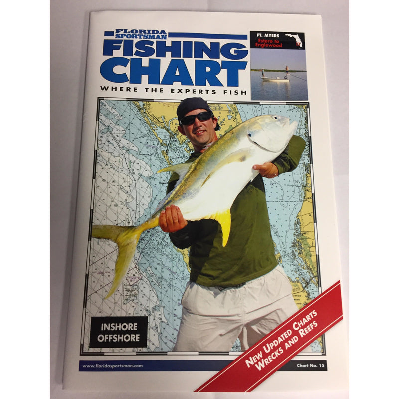 Florida Sportsman Fishing Charts Fishing Accessories Florida Sportsman Fishing Charts - FL Southwest ( Cedar Key to Everglade city)