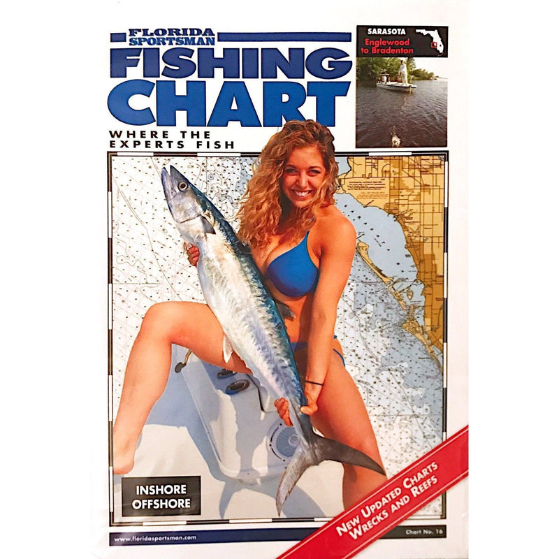 Florida Sportsman Fishing Charts Fishing Accessories Florida Sportsman Fishing Charts - FL Northwest ( Pensacola to Cedar Key )