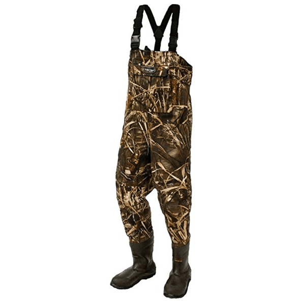 Frogg Toggs Wader Frogg Toggs Hellbender 600 Gram Camouflage Microfiber Breathable Cleated Bootfoot Wader