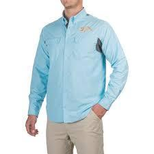 G.Loomis Apparel G. Loomis Sentinel Long Sleeve Vented Shirts, UPF 30+