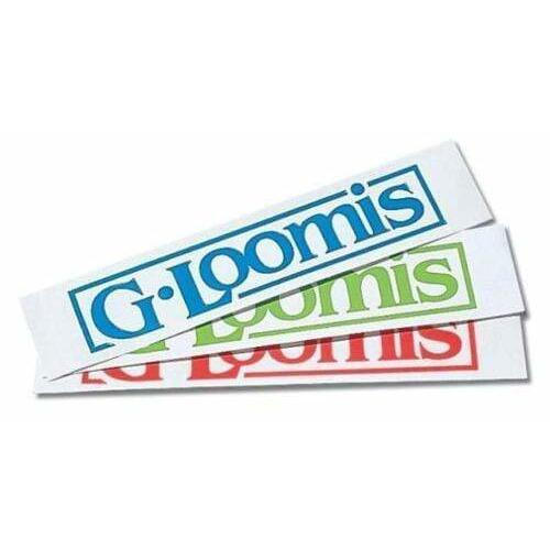 "G.Loomis Fishing Accessories G. Loomis Neon 8"" Block Logo Window Sticker"