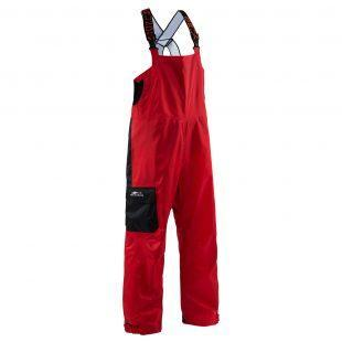 Grundens Weather Watch Sport Fishing Bib Trousers - Red