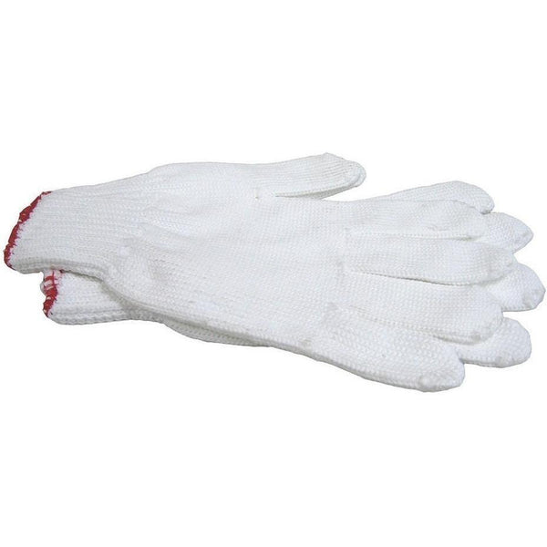 Joy Fish Apparel Gloves - White polyester glove