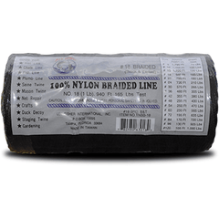 Everstrong Nylon Braided Black & bonded twine