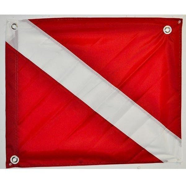 "Boat Legal Dive Flag-20""x24"" nylon material by Joy Fish"