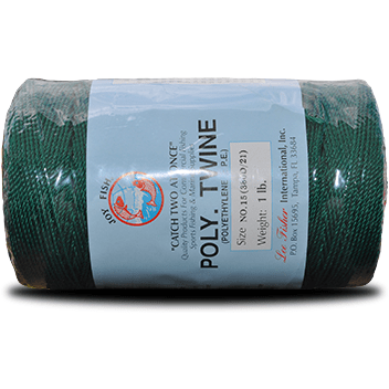 Joy Fish Fishing Accessories Everstrong Poly (P.E.) Twisted Twine – Green
