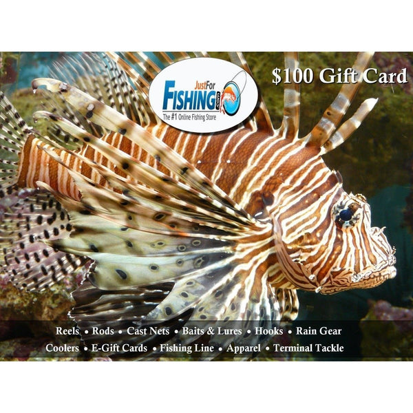Justforfishing.com gift card Just for Fishing E-Gift Card