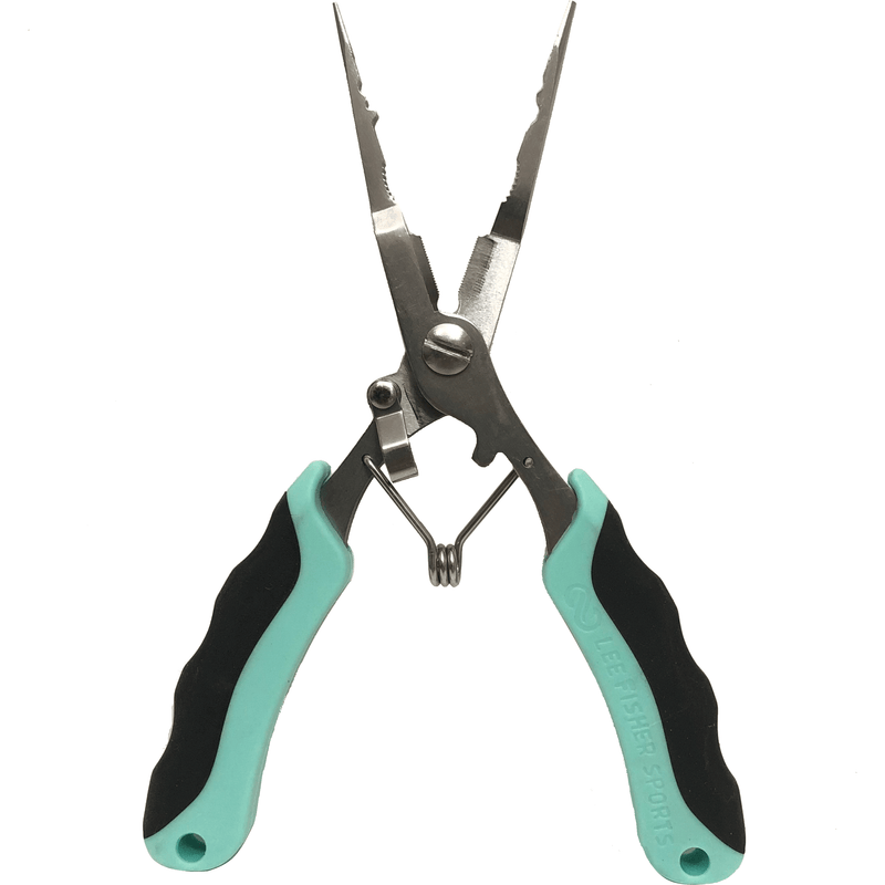 "Lee Fisher Sports Accessories Plier-Multi-Use 6.5"" Stainless Steel Fishing Pliers"