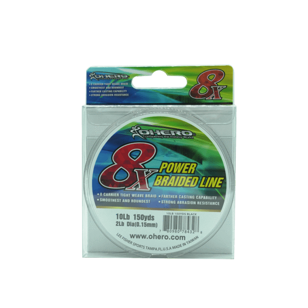 Ohero Lines & Leaders Ohero 8X power braided Line, 50lb-100lb