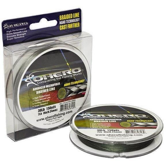 Ohero Lines & Leaders OHERO ADVANCED MICROFIBER BRAIDED FISHING LINES 60LB