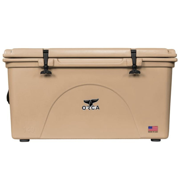 ORCA Fishing Accessories ORCA Coolers -140 Quart, Tan