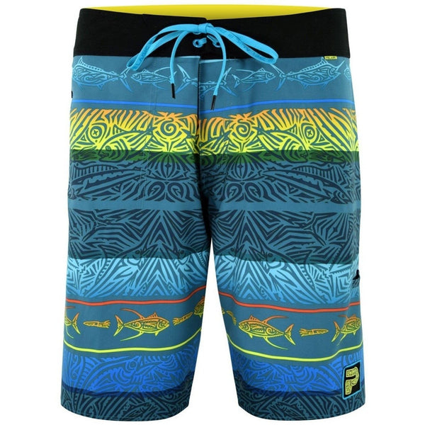 Pelagic Apparel Pelagic Microtek Boardshort Island Time