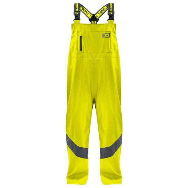 Pelagic Apparel Pelagic Safety Yellow Charcoal Stormbreaker Bibs