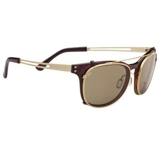 Serengeti Sunglasses Serengeti Enzo with Clip-On Polarized 8082  Sunglasses
