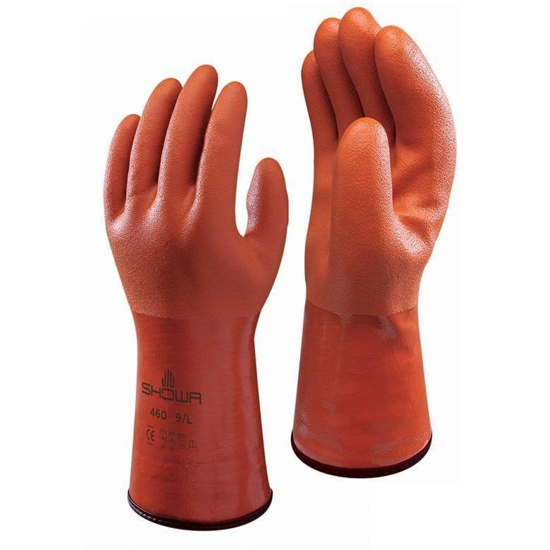 Showa Apparel Glove-Showa 460 Vinylove Cold Resistant Insulated Gloves-S,M,L,XL Size in various pack