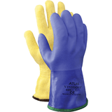SHOWA 495 PVC Coating Glove, Cotton Knit, Cold and Oil Resistant,L.M.XL size in various pack
