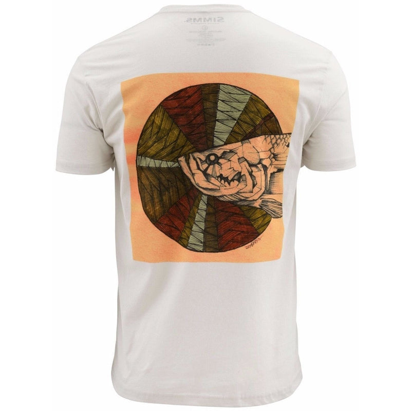 Simms Apparel Simms Artist Series Keeler Tarpon  Putty SS T-SHIRTS