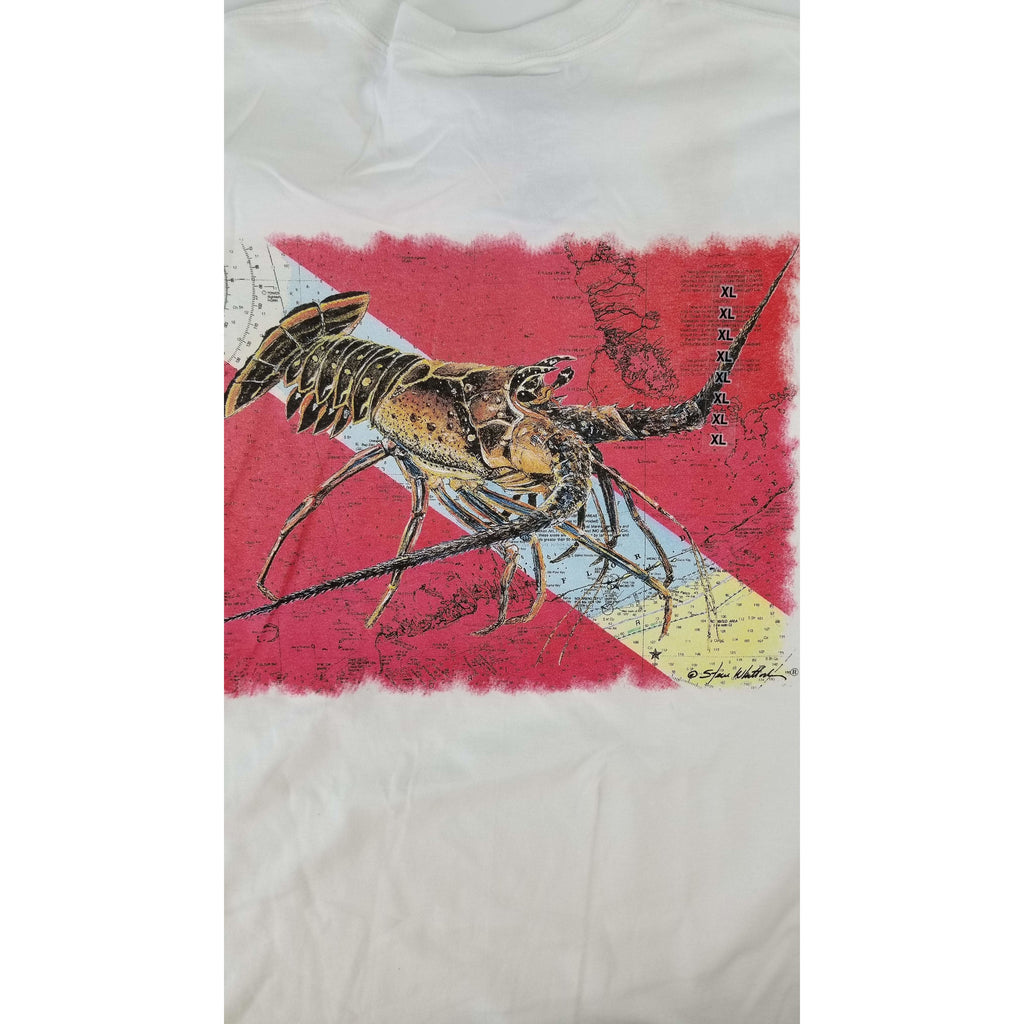 Steve Whitlock Apparel Steve Whitlock Signature Lobster Flag SS Shirts