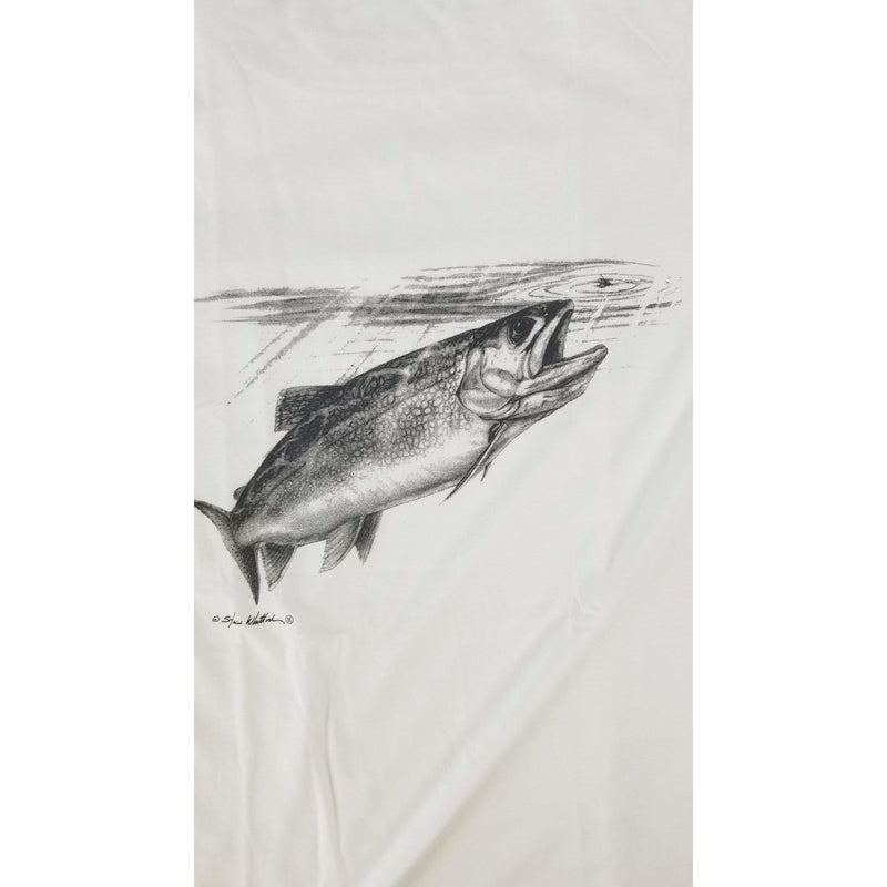 Steve Whitlock Apparel Steve Whitlock Signature Men's Ton&Ton Freshwater Trout SS Shirt (Picture in Front)