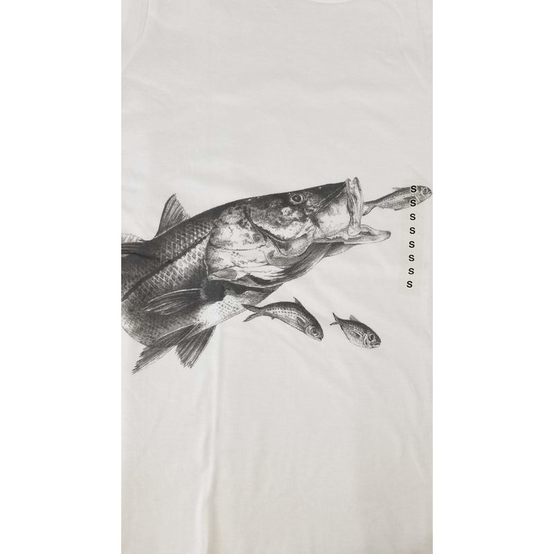 Steve Whitlock Apparel Steve Whitlock Signature Women's Tone on Tone Snook Trout SS
