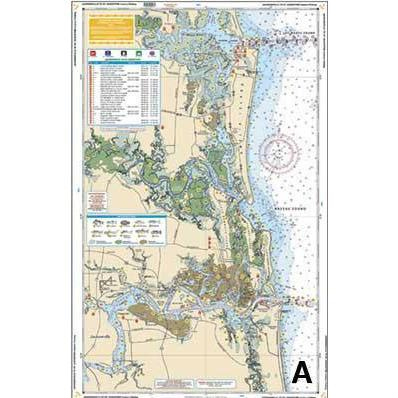 Waterproof Charts map Waterproof Charts - FL Northeast ( Jacksonville to Palm Bay)