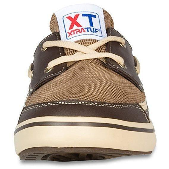 XTRATUF Apparel XTRATUF Bluefin Men's Microfiber Leather Deck Shoes
