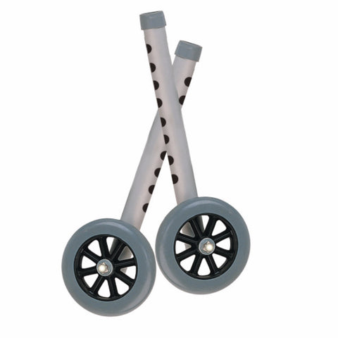 "Drive Medical Extended Height Walker Wheels and Legs Combo Pack (Adds 4"")"