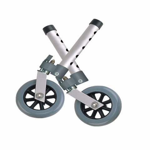 "Drive Medical 5"" Swivel Lock Walker Wheels"