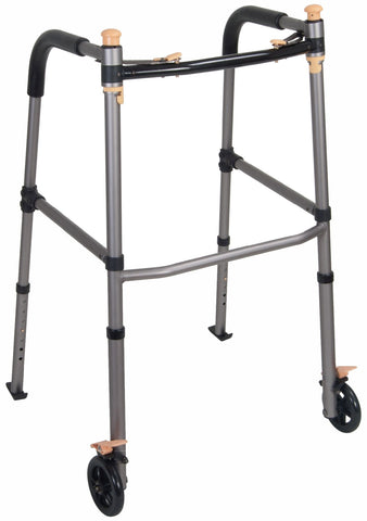 Drive Medical Lift Walker with Retractable Stand Assist Bars - CSA Medical Supply