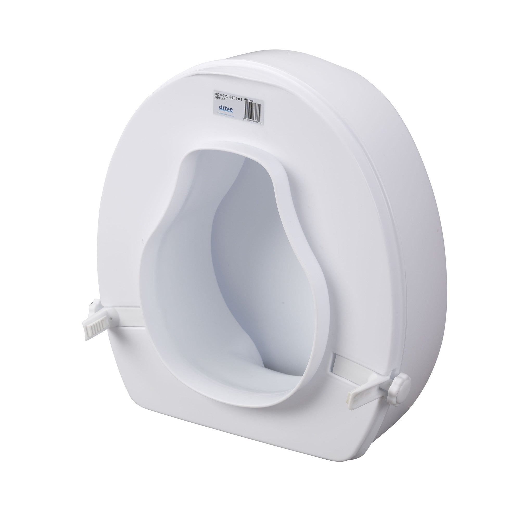 Amazing Raised Toilet Seat With Lock And Lid By Drive Medical Csa Gmtry Best Dining Table And Chair Ideas Images Gmtryco