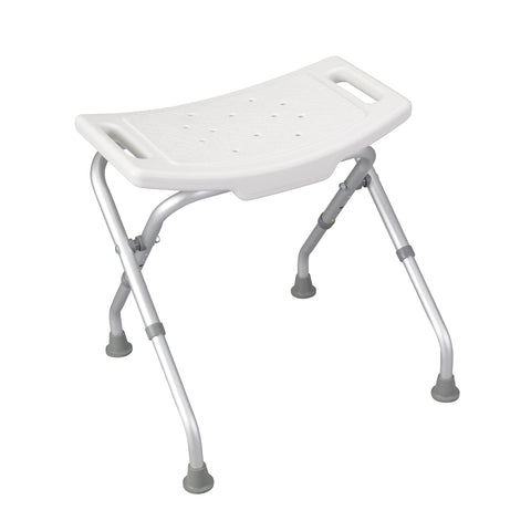 Folding Bath Bench with Backrest