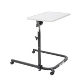 Drive Medical Pivot and Tilt Adjustable Overbed Table