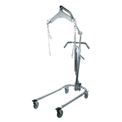 Hydraulic Patient Lift with Six Point Cradle - CSA Medical Supply