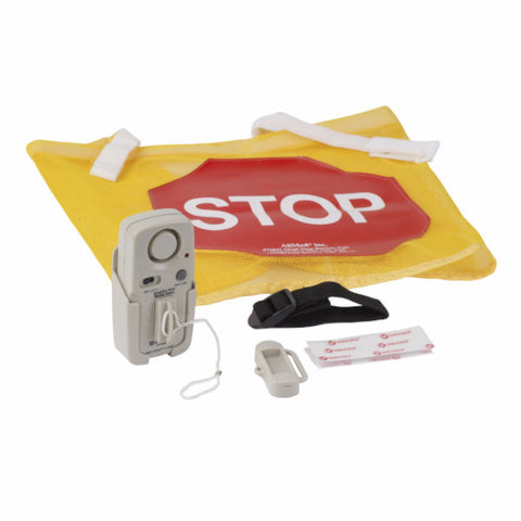 High Visibility Door Alarm Banner with Magnetically Activated Alarm System - CSA Medical Supply