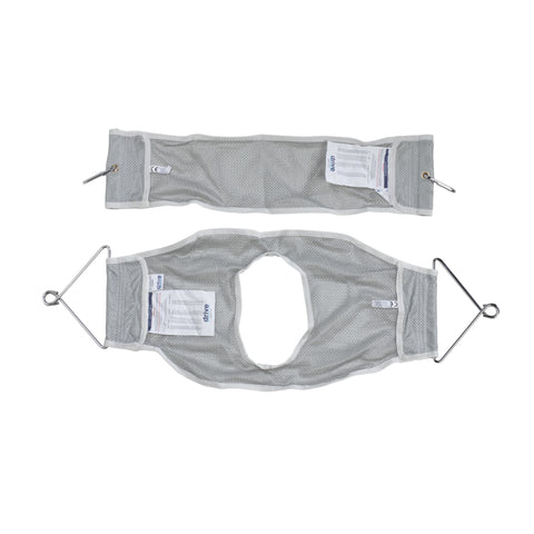 Two Piece Patient Lift Sling with Commode Opening