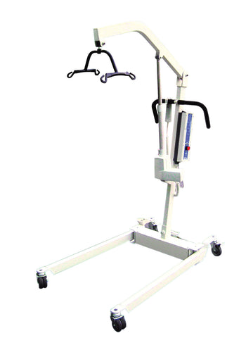 Bariatric Electric Patient Lift with Rechargeable Battery and Four Point Cradle - CSA Medical Supply