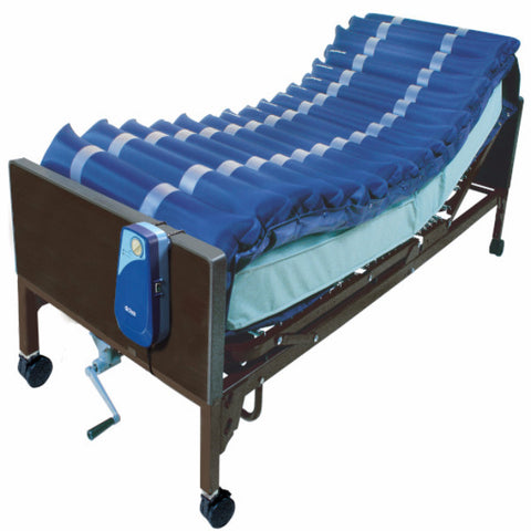 "Med Aire Low Air Loss Mattress Overlay System with APP 5"" - CSA Medical Supply"