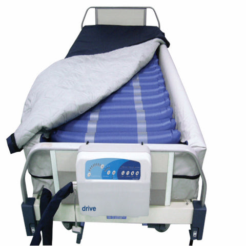Med Aire Plus Defined Perimeter Low Air Loss Mattress Replacement System with Low Pressure Alarm 8""